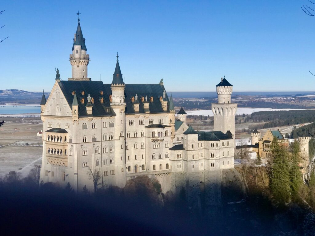 Castello di Neushwanstein in Germania