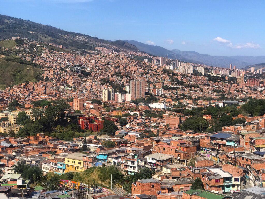 Panorama dalla Comuna 13