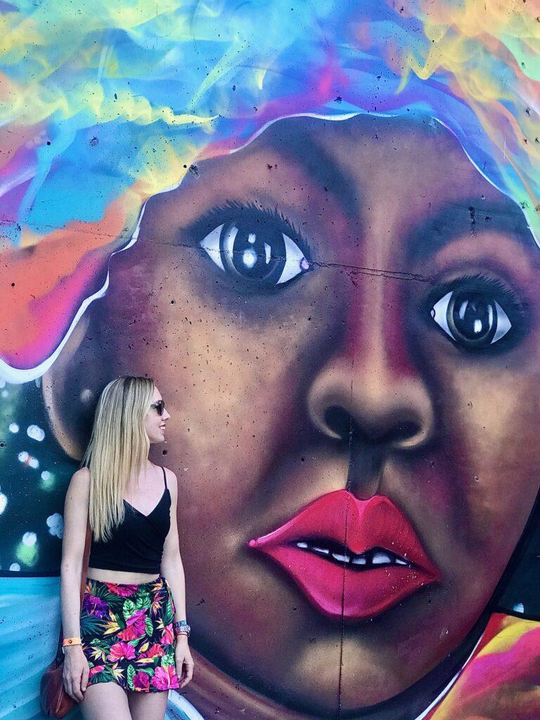 Graffiti,Comuna 13, Medellin