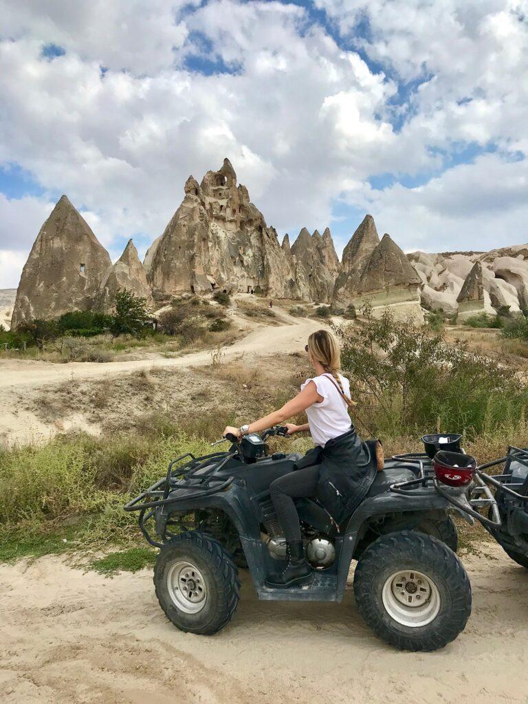 Tour in quad in Cappadocia