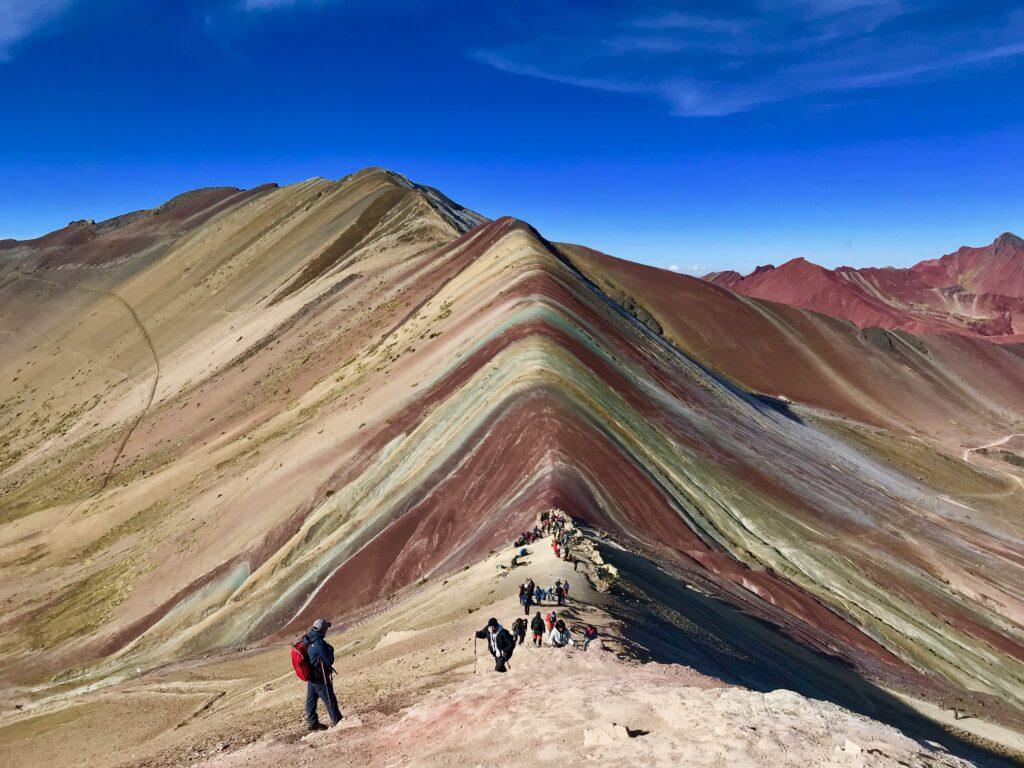 Montagna Vinicunca, Perù