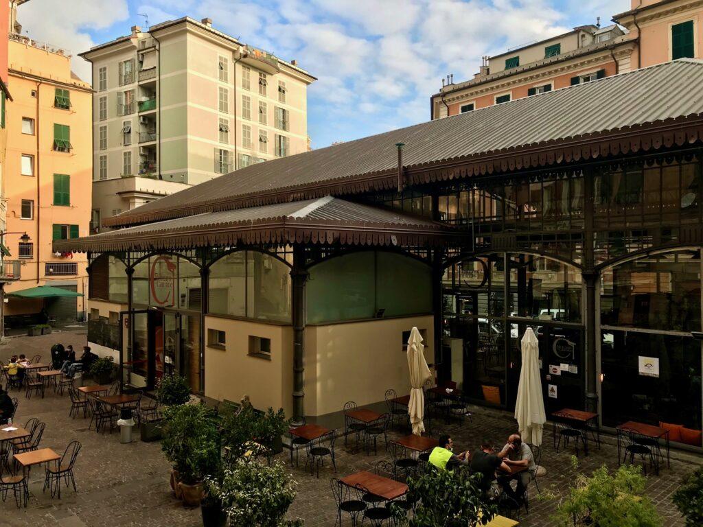 Mercato del Carmine, Genova