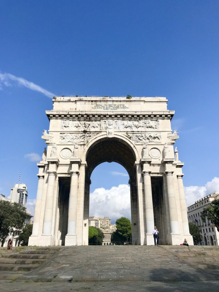 Arco di trionfo di Genova