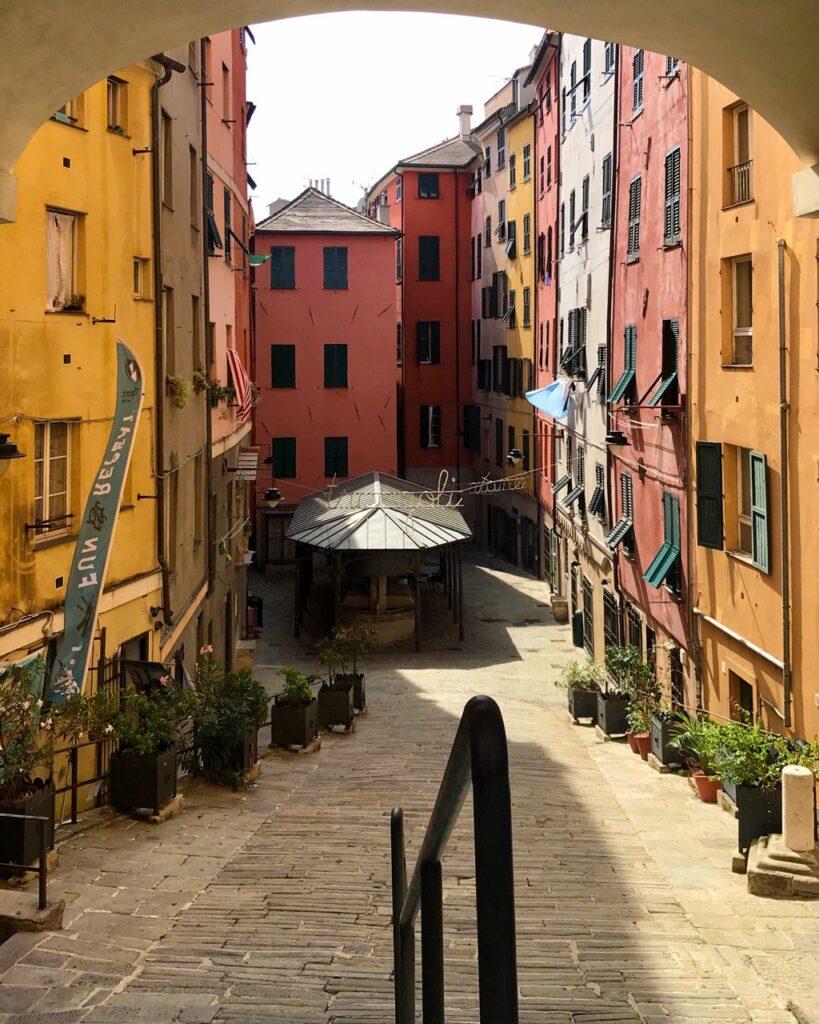 Salita Santa Brigida, Genova