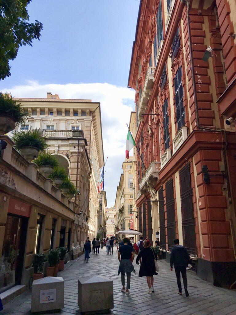 Via Garibaldi a Genova
