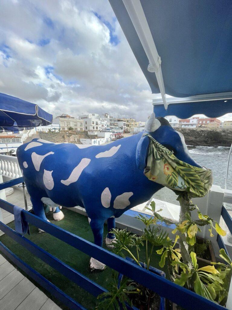 Restaurante la vaca azul, el Cotillo