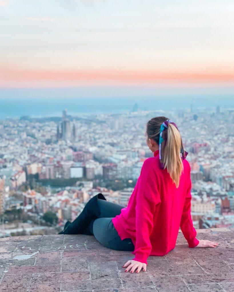Vista dai Bunkers del Carmel, Barcellona