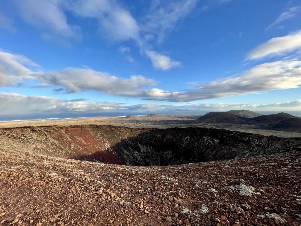 Cratere del Calderon Hondo a Fuerteventura