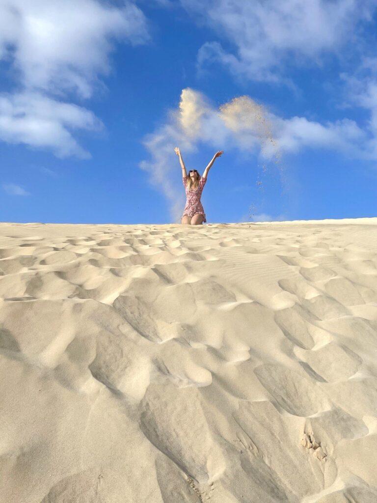 Dune di Corralejo, isole Canarie
